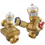 Автоматические балансировочные клапаны AB-QM / Электроприводы AMV; TWA-Z; ABNM